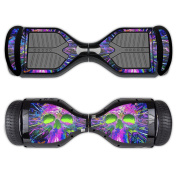 MightySkins Protective Vinyl Skin Decal for Swagtron T1 Hover Board Self Balancing Smart Scooter wrap cover sticker skins Hard Wired