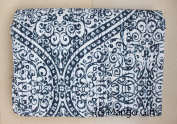 Mango Gifts Pure Cotton Kantha Style Twin Size Quilt Bed Spread, Indian Gudri Bed Cover 150cm X 230cm Inches Approx