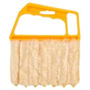 Rely2016 Microfiber Mini Blind Cleaner Venetian Blind Brush Window Air Conditioner Duster Dirt Cleaner Housework Tool Washable
