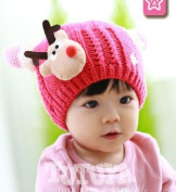 KiKi Monkey Baby Winter Hat Baby Knitted Hat Photo Prop Outfits Christmas Hat Festival Hats