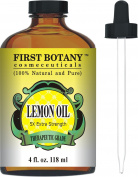 Lemon Essential Oil 5X Extra Strength 120ml 100% Pure & Natural Therapeutic Grade - Cold Pressed Premium Quality Oil from Italy