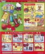 Hello Kitty Shine part activities Furukonpu 8 pcs Candy Toys & gum