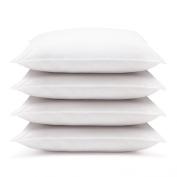 4 Pack Hotel Style Hypoallergenic Down Alternative Value Pillow - Medium/ Firm Density - Jumbo 50cm x 70cm - Sham Stuffer