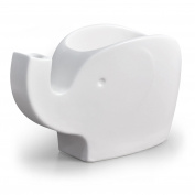 Fred OLIVER Ceramic Elephant Tidbit Bowl