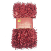 11m Christmas Garland Classic Christmas Decorations, Red