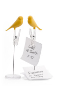 Qualy Note Holder - Yellow Sparrow