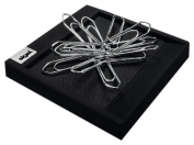 Sigel SA536 Paper Clip Carrier cintano : S, imitation leather , sapphire-black