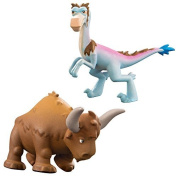 Disney The Good Dinosaur Bisodon and Bubbha Action Figures by Disney