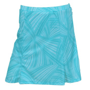 Monterey Club Ladies' Dry Swing Waterline Tonal Print Skort #2908