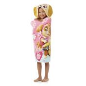 Paw Patrol Girl Puppy Plays Hooded Beach Towel Wrap
