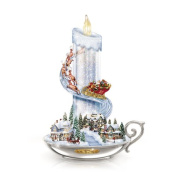Thomas Kinkade Warm Glow Of Christmas Table Centrepiece by The Bradford Exchange
