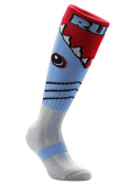 Samson Hosiery ® Funky Shark Pattern Socks | Casual Wear | Soccer