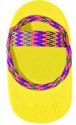 Lupo Women's Bright No Slip Yoga Socks