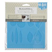 SugarVeil Silicone Leaf Toppers Mat, White