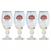 Stella Artois Belgian Chalice Beer Glasses 0.5L - Set of 4