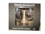 Duck Dynasty Character Pint Glasses