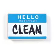 Fred & Friends FLIPSIDE Dishwasher Sign, Hello