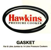 Hawkins D10-09 Pressure Cooker Gasket for 8-Litre Jumbo/10-Litre/12-Litre/14-Litre, Black