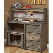 Driftwood 70cm W Student Desk with Hutch