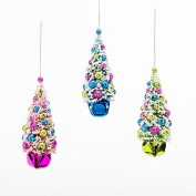 One Hundred 80 Degrees Christmas Tree Jingle Belli Hanging Ornaments