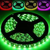 String Lights , Epoxy Waterproof RGB LED 5050 SMD Rope Light, 60 LED/M, Length