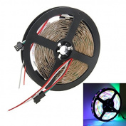 String Lights , WS2812 36W Bare Board RGB LED 5050 SMD Rope Light, 30 LED/M, Length