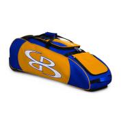 Boombah Spartan Rolling Baseball / Softball Bat Bag - 100cm x 30cm - 1.3cm x 30cm - 43 Colour Options - Holds 4 Bats and Much More