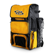 Boombah Superpack Baseball / Softball Bat Backpack - Holds up to 4 Bats - 57 Colour Options