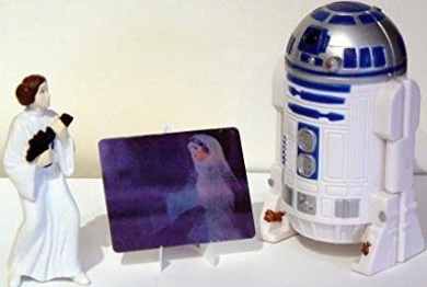 STAR WARS: Trilogy ~ R2-D2 Playset - Taco Bell by Applause