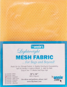 By Annie PBA02031 Light Weight Mesh Fabric, 46cm by 140cm , Dandelion