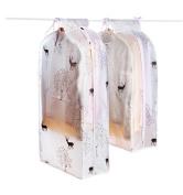 Asunflower Dustproof Garment Cover for Clothes Rack/Closet Zippered Closure