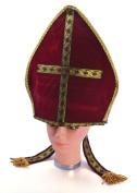 Burgundy Pontif Bishop Hat