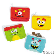 Silly Monster Coin Purses