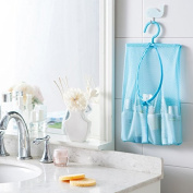 Grocery House Multipurpose Hanging Storage Mesh Bag with Clothespin Hanger