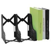 Loghot Adjustable 3 Slots Plastic Magazine/File Holders Desktop Organiser for Organisation Office & Home Desktop
