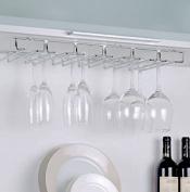 Neu Home Kitchen Cabinet Organiser Stemware Rack, Large