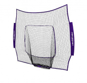 PowerNet Team Colour Nets Baseball and Softball 7x7 Bow Style (Net Only) Replacement