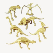 US Toy - Assorted Dinosaur Skeleton Toy Figures, Made of Plastic, (12) by U.S. Toy