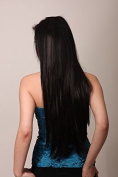 Long Straigh Clip In Half Head Heat Resistant Hair Extensions