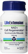 NAD+ Cell Regenerator Nicotinamide Riboside Capsules, 30 Count by Life Extension Biotin by Apran