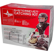 All-Star System Seven Youth Baseball Catcher's Set w/Bag