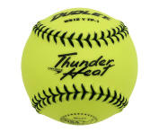 Dudley NSA Thunder Heat 28cm Fast Pitch Softball - Synthetic Cover - 12 pack