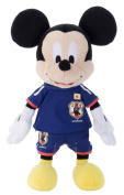 Disney Soccer Mickey Mouse stuffed toy collection Japan representative