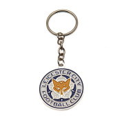 Leicester City Keyring Round
