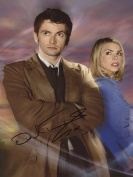 DAVID TENNANT DOCTOR WHO Hand Signed 12x8 Photo IMG01 AUTHENTIC + COA