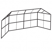 Chain Link Backstop with Prefabricated Panels