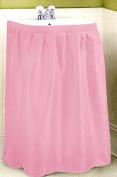 Fabric Print 100% Polyester Sink Skirt Pink Diamond