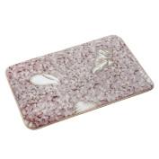 Bath Rug,Leegor Memory Foam Mat Bath Rug Shower Non-slip Floor Carpet (Khaki)