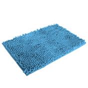 Leoy88 40x60cm Bath Mat Soft Non Slip Absorbent Bathroom Shower Rugs Carpet