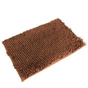 Yoyorule 40cm Soft Shaggy Non Slip Absorbent Bath Mat Bathroom Shower Rugs Carpet